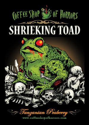 Tanzanian Peaberry - Shrieking Toad (8 oz.)