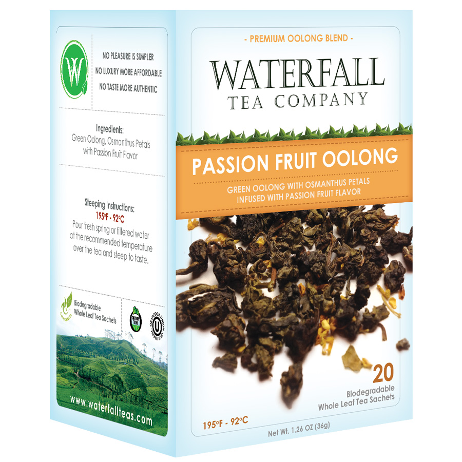 Passion Fruit Oolong Organic Tea (20 count)