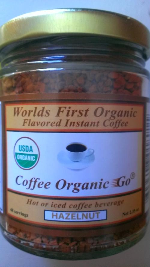 Instant Organic Hazelnut (2.35 oz.)