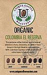 Organic Colombia El Reserva (16 oz.)
